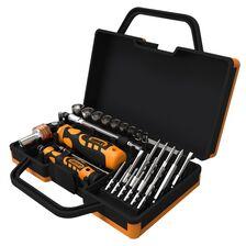 Trusa de chei tubulare & surubelnite Toman TT-3100 - 31 piese - receptoare.ro