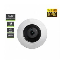 Camera  Video AMIKO  FishEye 360 POE & Wi-Fi - 4MP - receptoare.ro