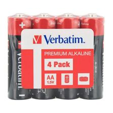 Baterii Verbatim Alcaline AA R6 GP  1,5V - 4 buc. - receptoare.ro