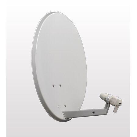 Antena satelit offset Amiko 60 cm otel - receptoare.ro