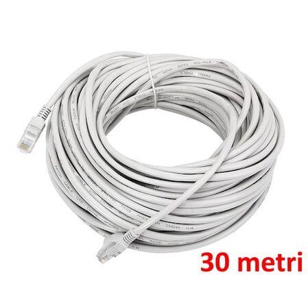 Cablu UTP Patch cord 30 metri - receptoare.ro