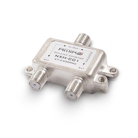 Diplexor / Combiner terestru / satelit de interior - receptoare.ro
