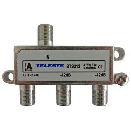 Distribuitor CATV cu 2 Tap-uri BTS216 Teleste - receptoare.ro