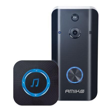 Sonerie wireless cu video interfon HD Amiko - receptoare.ro