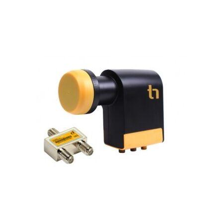 LNB Quad Unicable Inverto Black - receptoare.ro