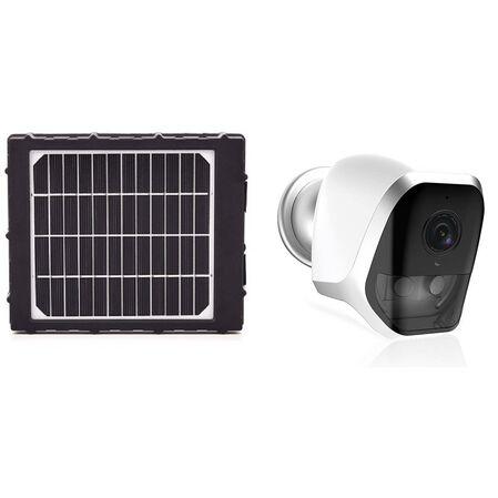 Kit Camera Wireless pe baterii BC-16 Amiko + Panou solar - receptoare.ro